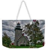 30-mile Point Lighthouse 3197 Weekender Tote Bag