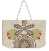 "Santa Barbara Mission Doorway Design From The Portfolio ""decorative Art Of Spanish California"" Weekender Tote Bag"