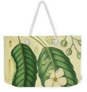 Vintage Botanical Illustration Weekender Tote Bag