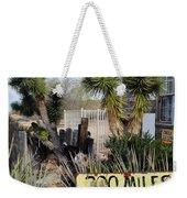 300 Miles Desert Ahead Weekender Tote Bag