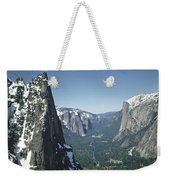 306754 Yosemite Valley From Union Point  Weekender Tote Bag