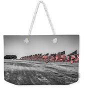 Pepperdine Flag Salute Weekender Tote Bag