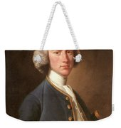 Portrait Of George Hill Sergeant At Law Henry Pickering Weekender Tote Bag