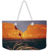 317828 Sunrise On Santa Elena Canyon  Weekender Tote Bag