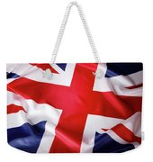 British Flag 7 Weekender Tote Bag