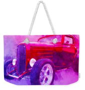 32 Highboy Watercolour Deuce On Acid Weekender Tote Bag