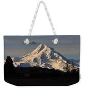 Mountain Weekender Tote Bag
