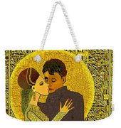 325  Golden Dancing  A Weekender Tote Bag