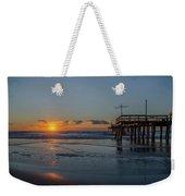 32nd Street Pier Avalon Nj - Sunrise Weekender Tote Bag
