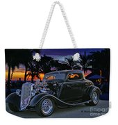 33 Ford On The Mexico Beach Weekender Tote Bag
