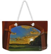 33- Window To Paradise Weekender Tote Bag