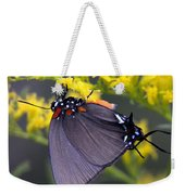 3398 - Butterfly Weekender Tote Bag