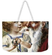 American Christmas Card Weekender Tote Bag by Granger