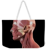Facial Muscles Weekender Tote Bag