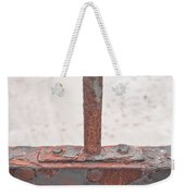 Rusty Metal Weekender Tote Bag