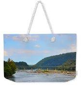 340 Bridge Harpers Ferry Weekender Tote Bag by Bill Cannon