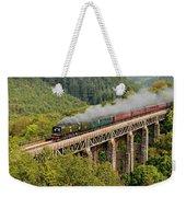34067 Tangmere Crossing St Pinnock Viaduct. Weekender Tote Bag
