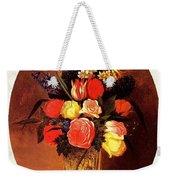 bs-flo- James Henry Wright- Flower Still Life James Henry Wright Weekender Tote Bag