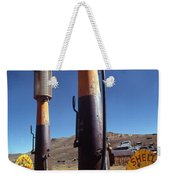 35-cents-a-gallon Weekender Tote Bag