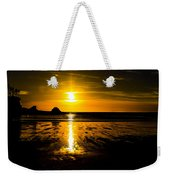 Sunset Bay Beach Weekender Tote Bag