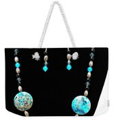 3517 Crazy Lace Agate Set Weekender Tote Bag