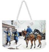 35424 Frederick Remington Weekender Tote Bag