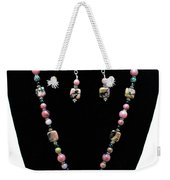 3571 Rhodonite Set Weekender Tote Bag
