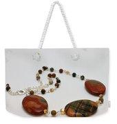3586 Picasso Jasper Necklace Weekender Tote Bag