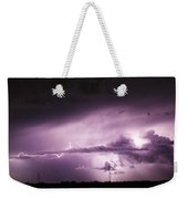 6th Storm Chase 2015 Weekender Tote Bag