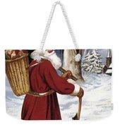 American Christmas Card Weekender Tote Bag