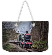 3802 Mince Pie Special On The Llangollen Line. Weekender Tote Bag