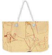 38027 Egon Schiele Weekender Tote Bag