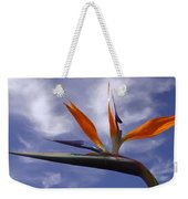Australia - Bird Of Paradise On Blue Weekender Tote Bag