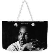 39- Martin Luther King Jr. Weekender Tote Bag by Joseph Keane