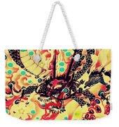 3d Color Dragon Weekender Tote Bag