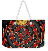 3d Concentric Planet  Weekender Tote Bag