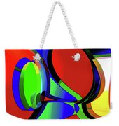 3d-curiosity Of Science Weekender Tote Bag