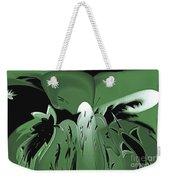 3d Green Abstract Weekender Tote Bag