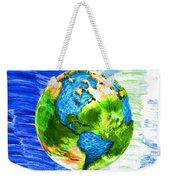 3d Render Of Planet Earth 11 Weekender Tote Bag