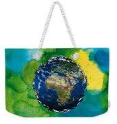 3d Render Of Planet Earth 14 Weekender Tote Bag