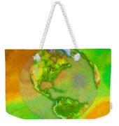 3d Render Of Planet Earth Weekender Tote Bag