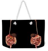 3d Rendering Of Human Digestive System Weekender Tote Bag