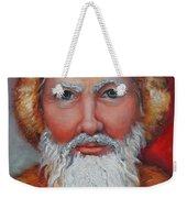 3d Santa Weekender Tote Bag
