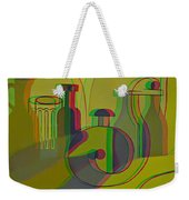 3d Stereo Cubism - Use Red-cyan 3d Glasses Weekender Tote Bag