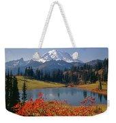 3m4824 Tipsoo Lake And Mt. Rainier H Weekender Tote Bag