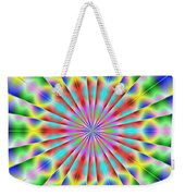 3x1 Abstract 918 Weekender Tote Bag