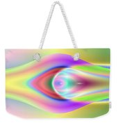 3x1 Abstract 921 Weekender Tote Bag