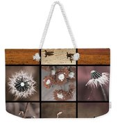3x3 Brown Weekender Tote Bag
