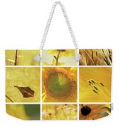 3x3 Yellow Weekender Tote Bag