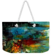 Abstract  Landscape Weekender Tote Bag